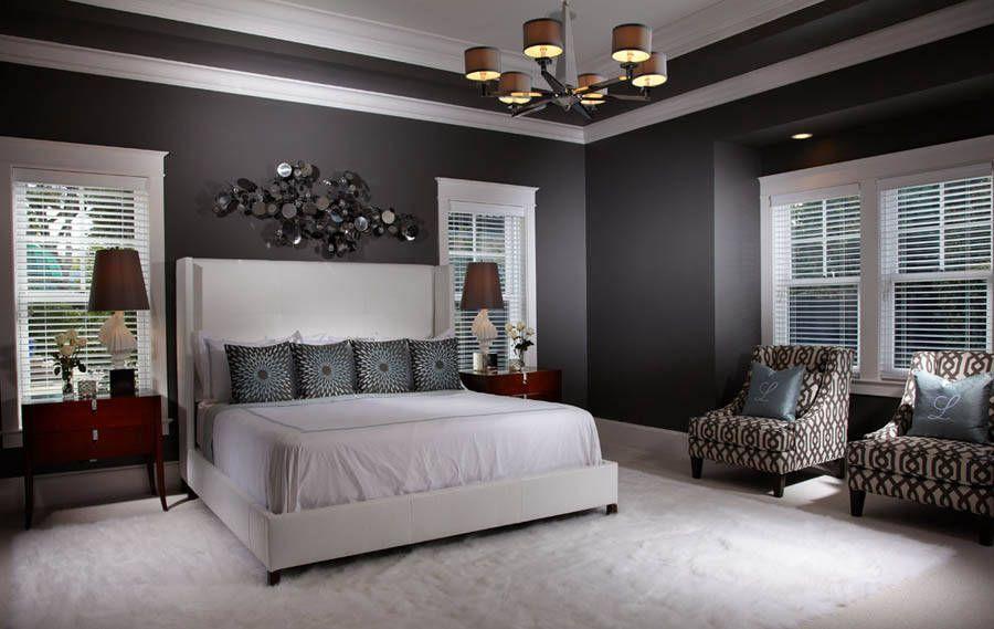 Grey gray bedroom free style interiors bonita springs - Interior designers bonita springs fl ...