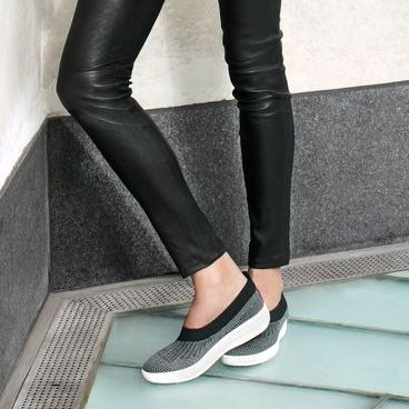 69908a19d09ff8 Comfortable Shoes for Women. Fitflop Uberknit Ballerina Flat