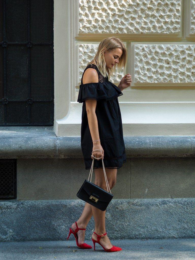 das kleine schwarze, schwarzes kleid, black dress | das