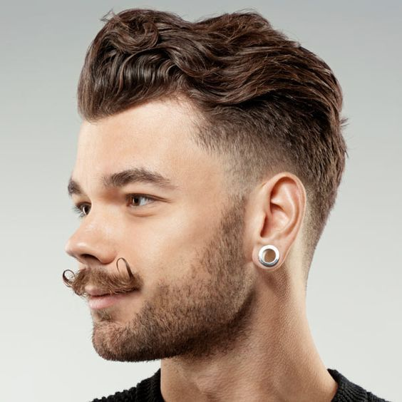 Pin On Dope Pompadour Hairstyles