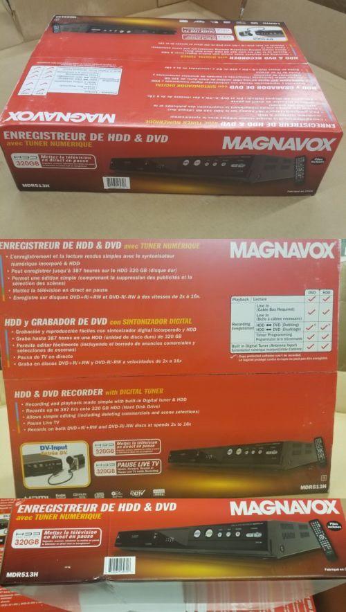 dvrs hard drive recorders 11725 magnavox mdr513h f7 320gb hard rh pinterest ca magnavox mdr513h manual pdf magnavox mdr515h manual
