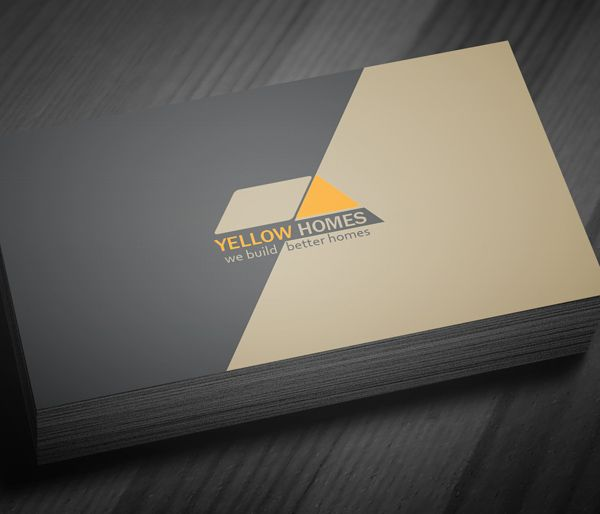 Real Estate Business Card Template - 4   business cards   Pinterest ...