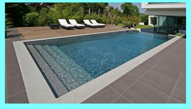 Concrete Pools Vs Fiberglass Pools Concrete Pool Backyard Pool Rectangular Pool