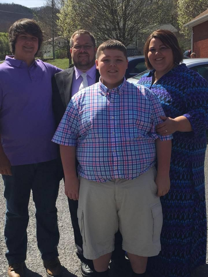 Casey, Brandon, Dale and Shon (Easter, 2015)
