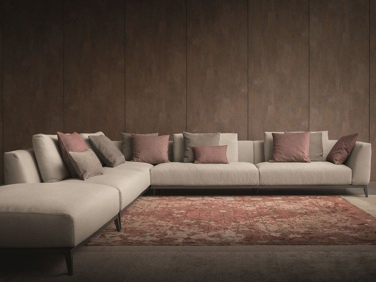 Anbausofa aus Stoff Serie Olivier by Flou | Design Mario Dell'Orto, Emanuela Garbin