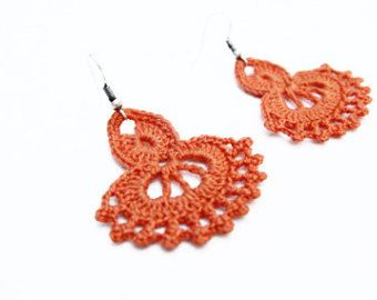 PDF Tutorial Crochet Pattern...Dangle di accessoriesbynez su Etsy