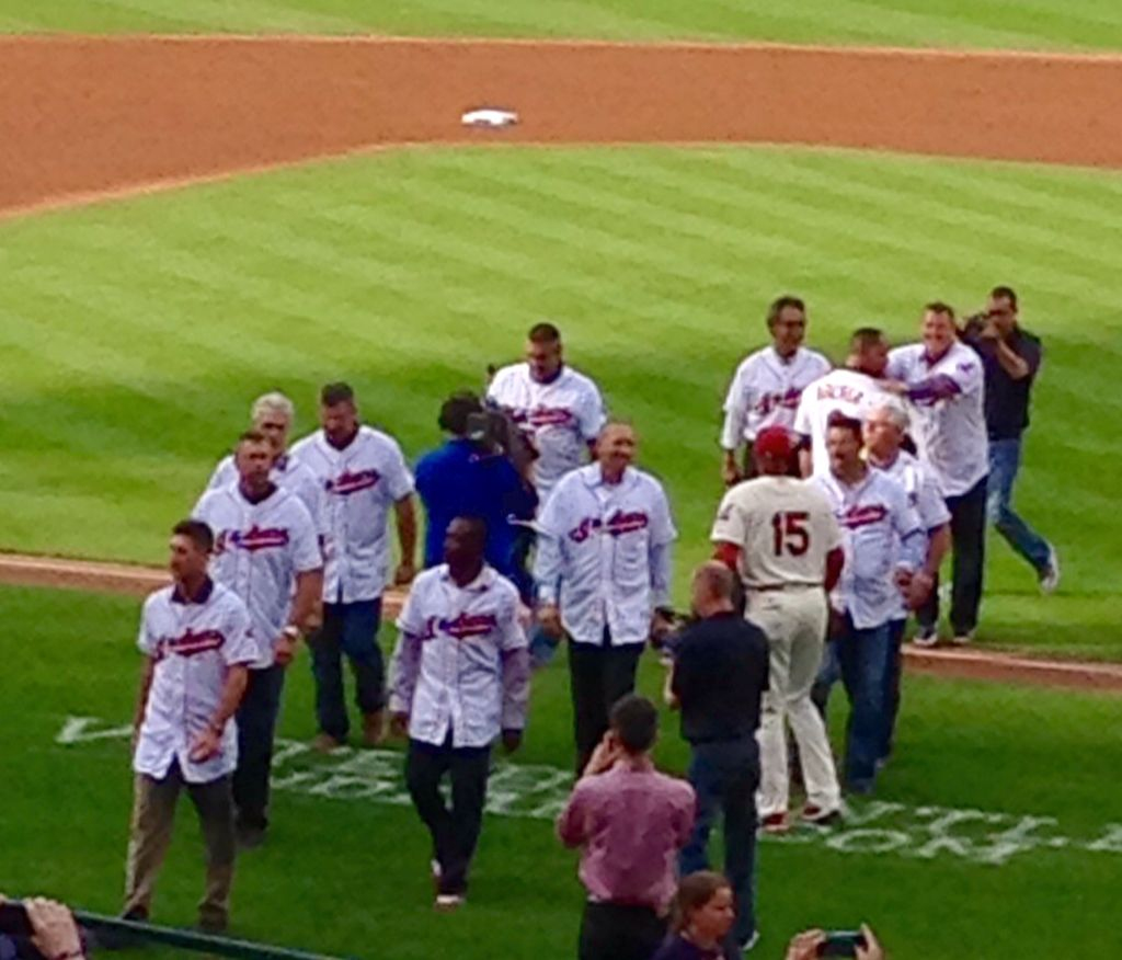 Celebrate good times with the 1995 indians team june 20