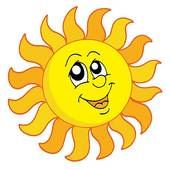 sun face clip art happy sun clipart and stock illustrations 6 425 rh pinterest com Happy Sun Drawing Happy Sun Graphic