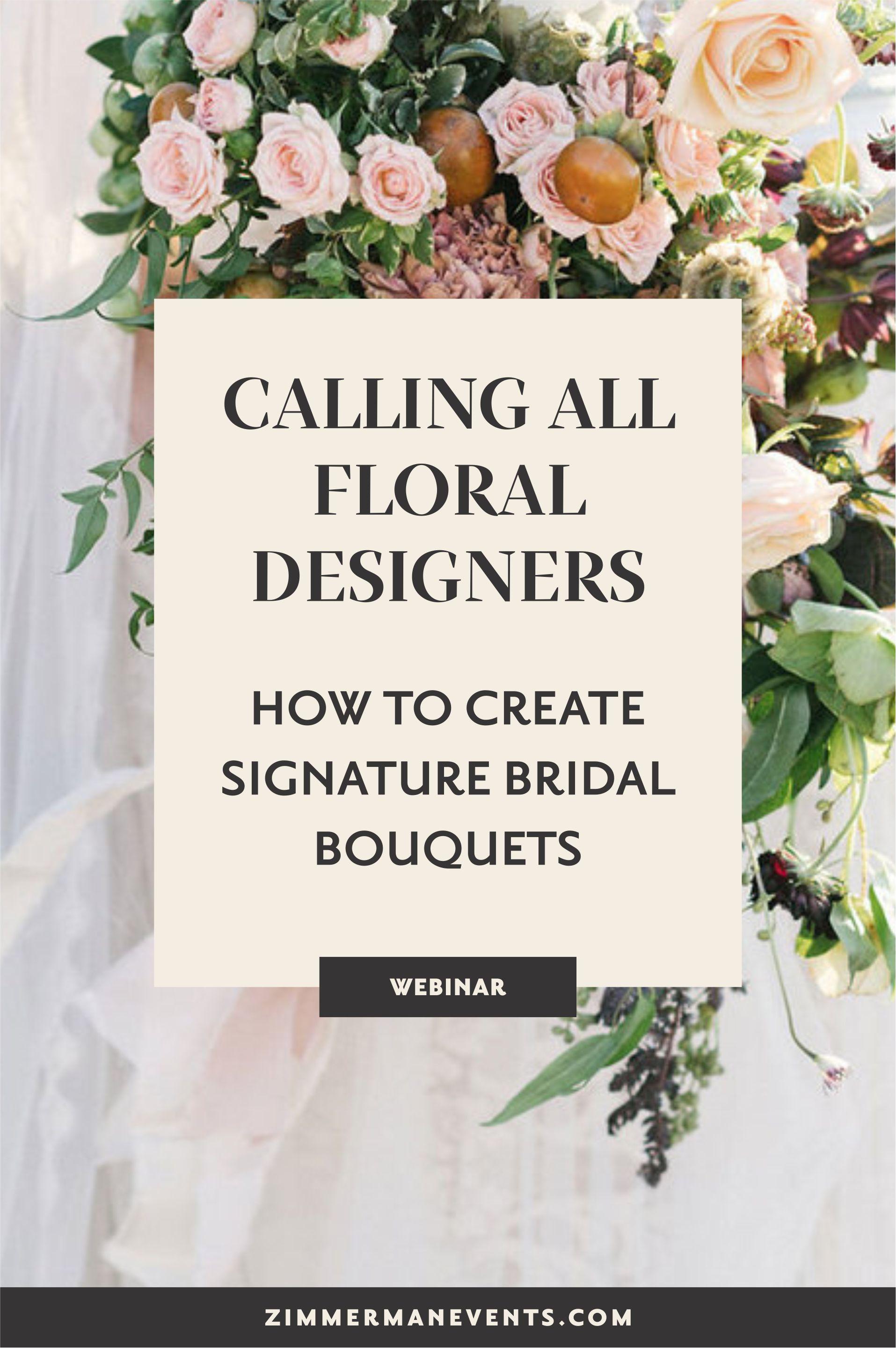 Video Tutorial Signature Bridal Bouquet Arkansas Wedding Planner Florist Education Zimmerman Wedding Business Ideas Bridal Bouquet Wedding Business