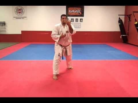 Shotokan Karate Kihon Technique Combination 4 Rising Block Reverse Punch Youtube Martial Arts Techniques Karate Martial Arts