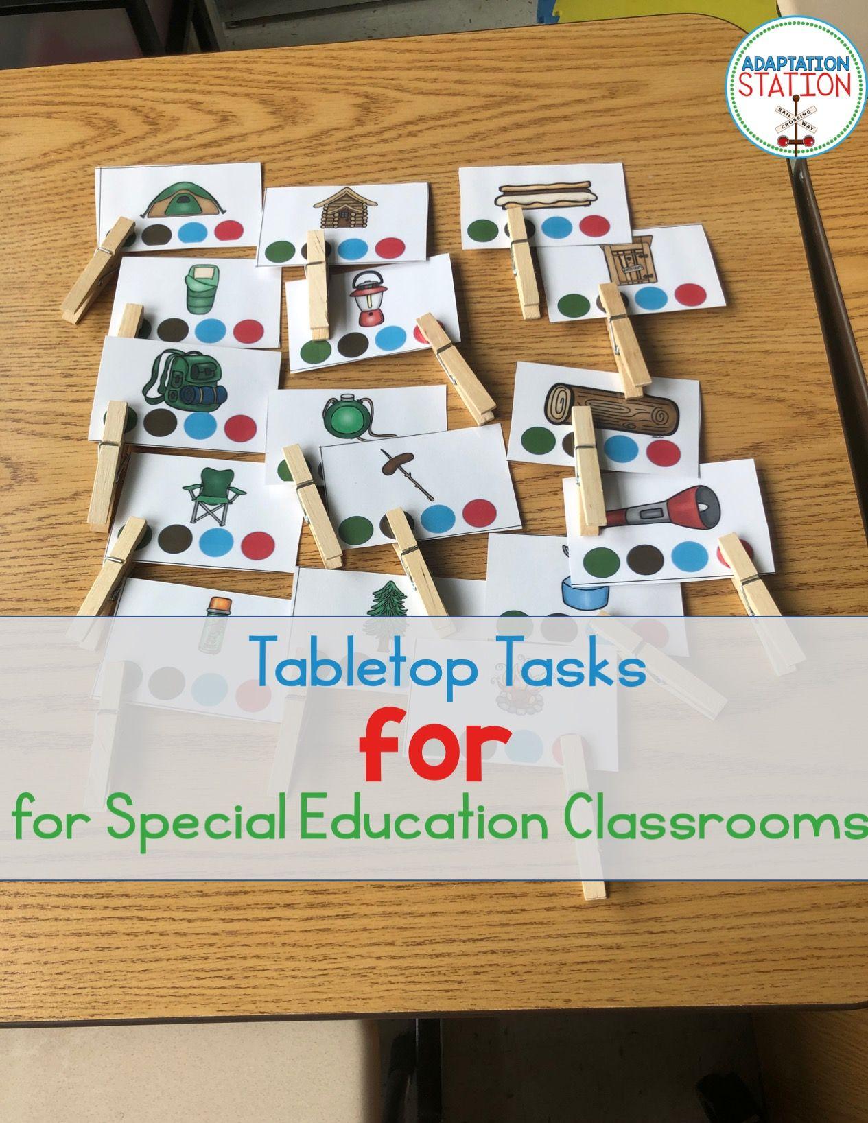 Adapted Thematic Tabletop Tasks Mega Bundle