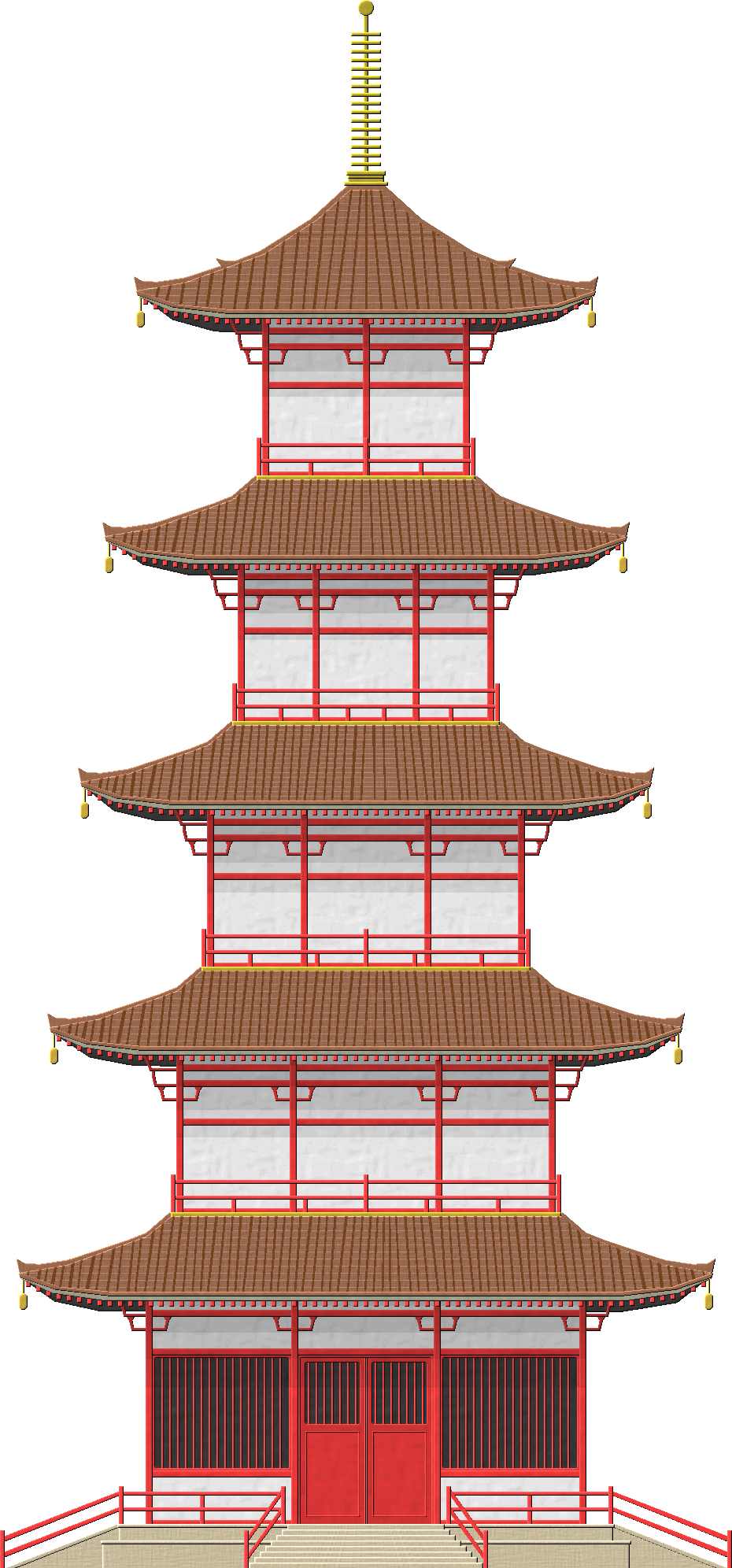 Japanese Pagoda Japanese Pagoda Pagoda Japanese Traditional