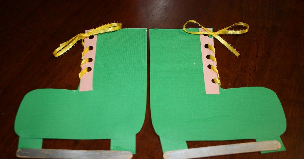 We made these ice-skates yesterday after reading Callie Cat, Ice Skater  by Anne Kennedy. It's really cute book about a cat that loves to ...