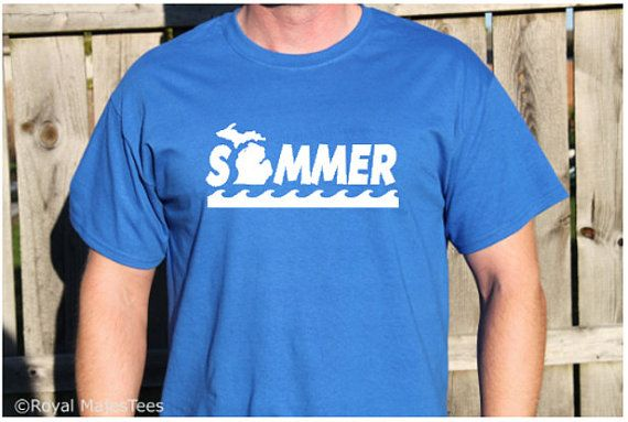 Summer Michigan Shirt by RoyalMajesTees on Etsy #summer #michigan #shirt #tshirt #seasons #fashion #clothes #clothing #apparel #mens #womens #unisex