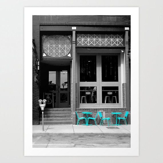 PHOTOGRAPHY SALE Cafe Print Color Pass By TiffanyDawnSmith On Etsy