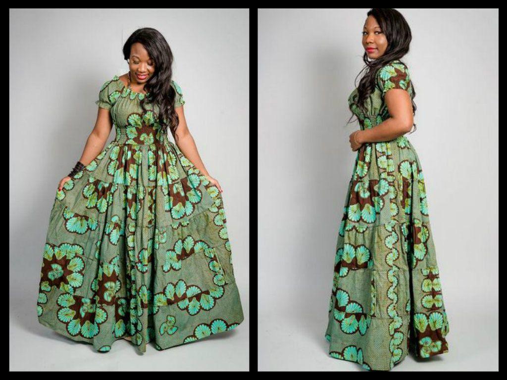 ankara maxi dress by missbeidafashion on Etsy, $105.00 ...