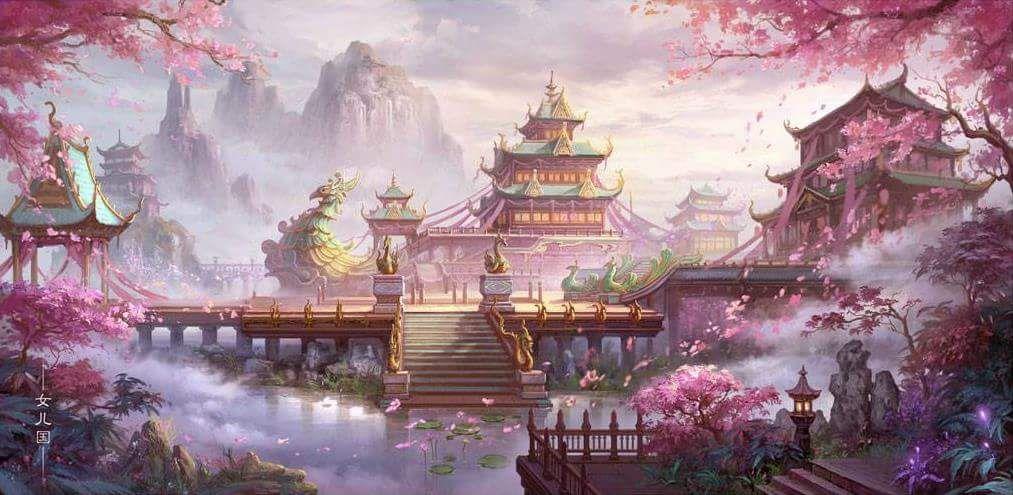 Japanese Landscape Painting Wallpaper Képtalálat a...