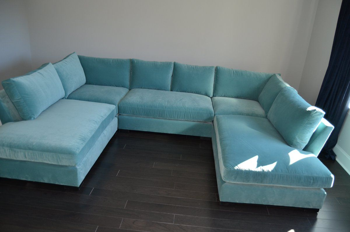 Incredible How Striking Is This Monroe Sectional In Whirlpool Velvet Pdpeps Interior Chair Design Pdpepsorg