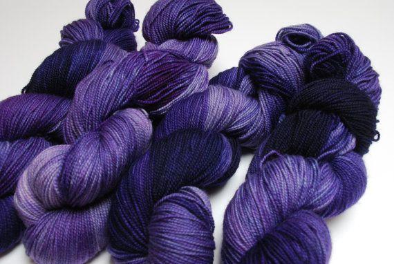 Holiday Sale 20 Off Mirth Hand Dyed Superwash Merino and by LHogan, $22.00