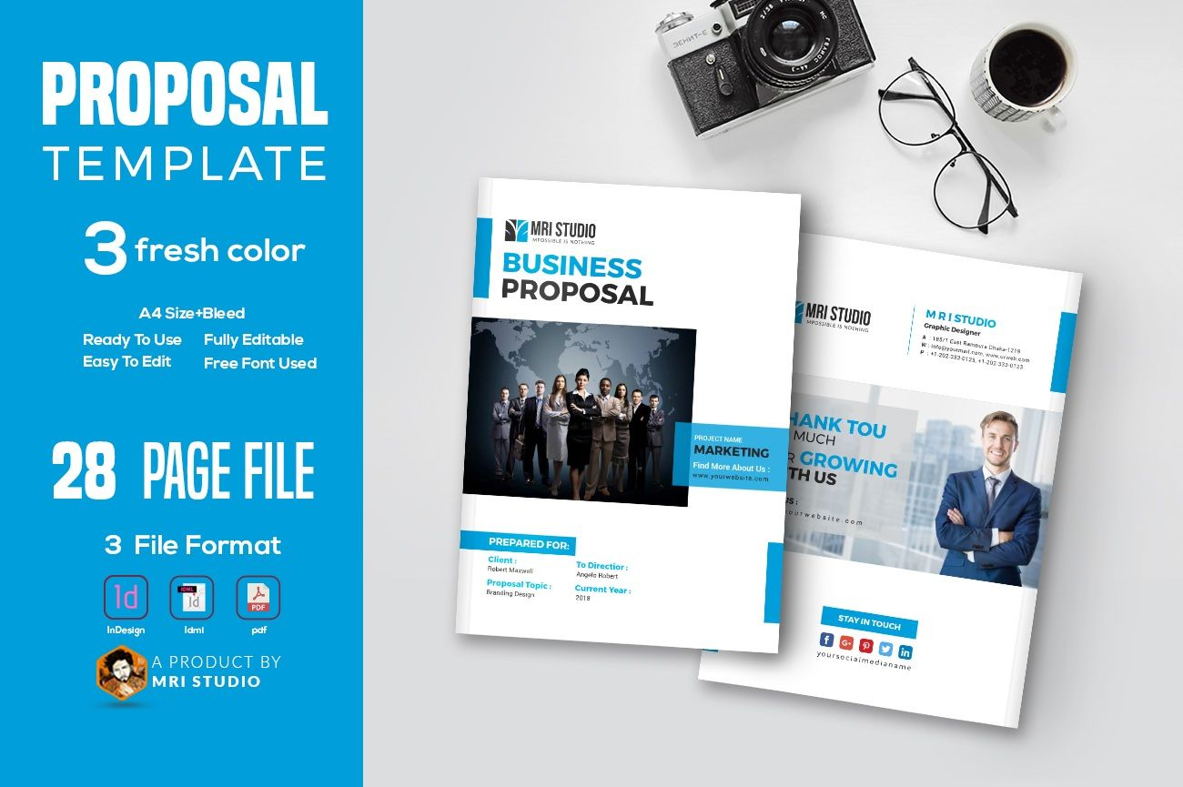 Proposal Template Proposal templates, Creative proposals