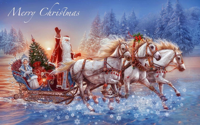 Рождество открытка флэш