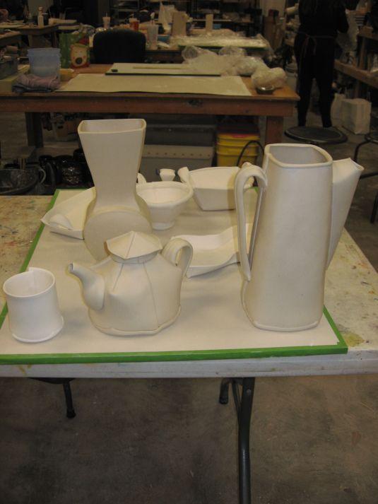 Margaret Bohls Workshop Recap Slab Ceramics Slab Pottery Ceramics