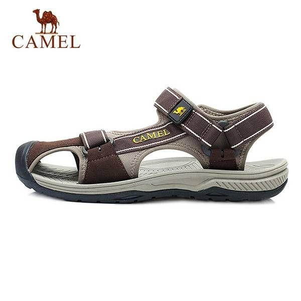 CAMEL Summer Men Breathable Sandals Wear-resisting Sandals Beach Sandals - US$64.71