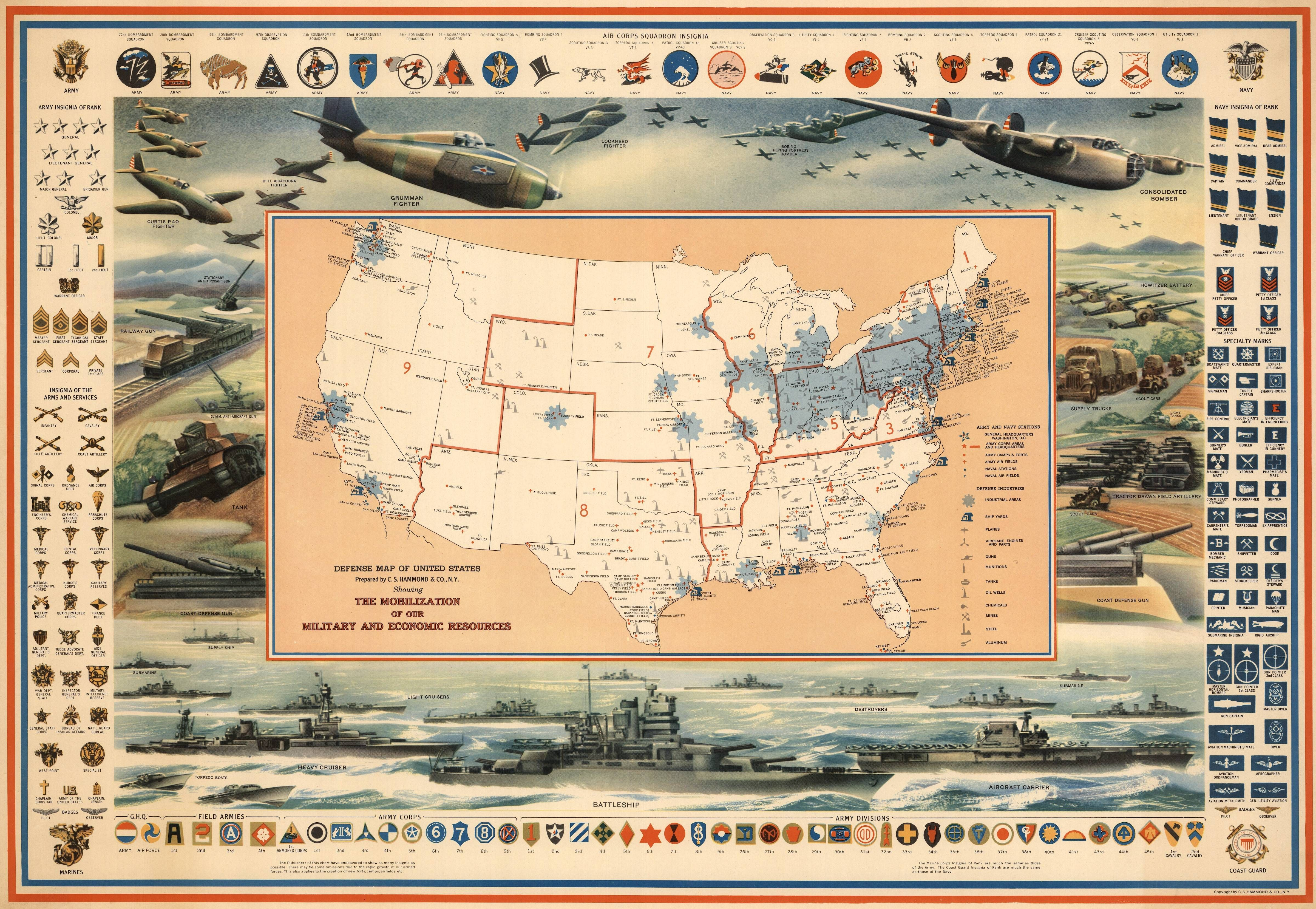Redditery the reddit gallery army weapons pinterest defense map of the united states original wwi map poster gumiabroncs Choice Image