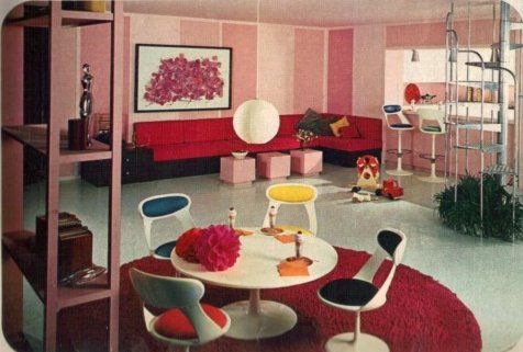 16 Rooms Showcasing Popular Colors From 1966 1960s