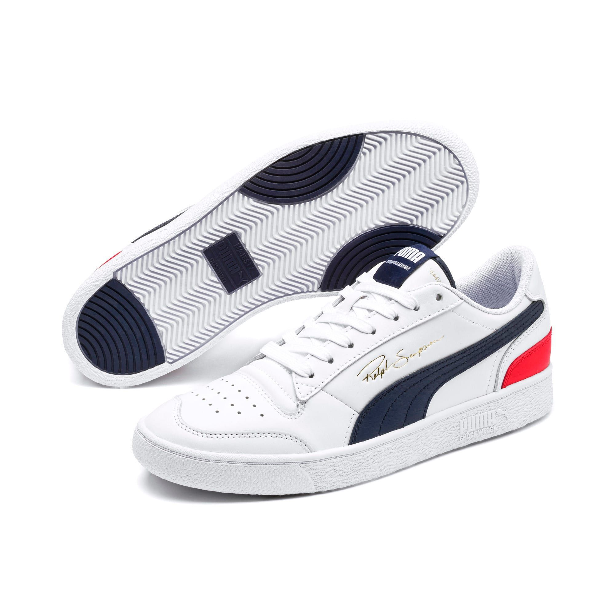 Ralph Sampson Lo Sneakers | Puma Weiß Caban Puma Rot | PUMA