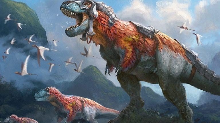 A Royal Recipe for Dinosaur Tribal