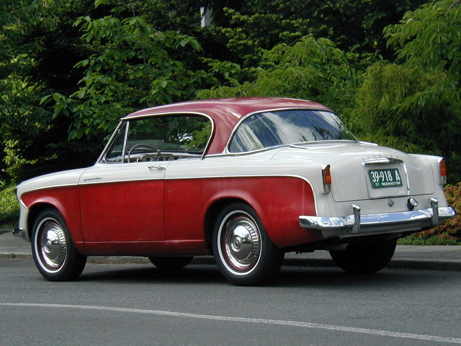 All sunbeam car company models list of sunbeam car company cars - 1957 Series I Sunbeam Rapier