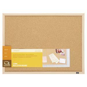 Quartet Oak Frame Corkboard 430x580mm – Office Works $22 23 | Office