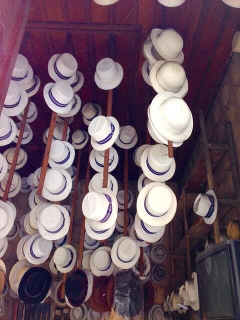Panama hats, Cuenca