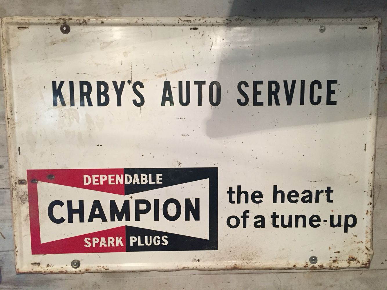 Kirby's Esso Auto service, Spark plug, Kirby
