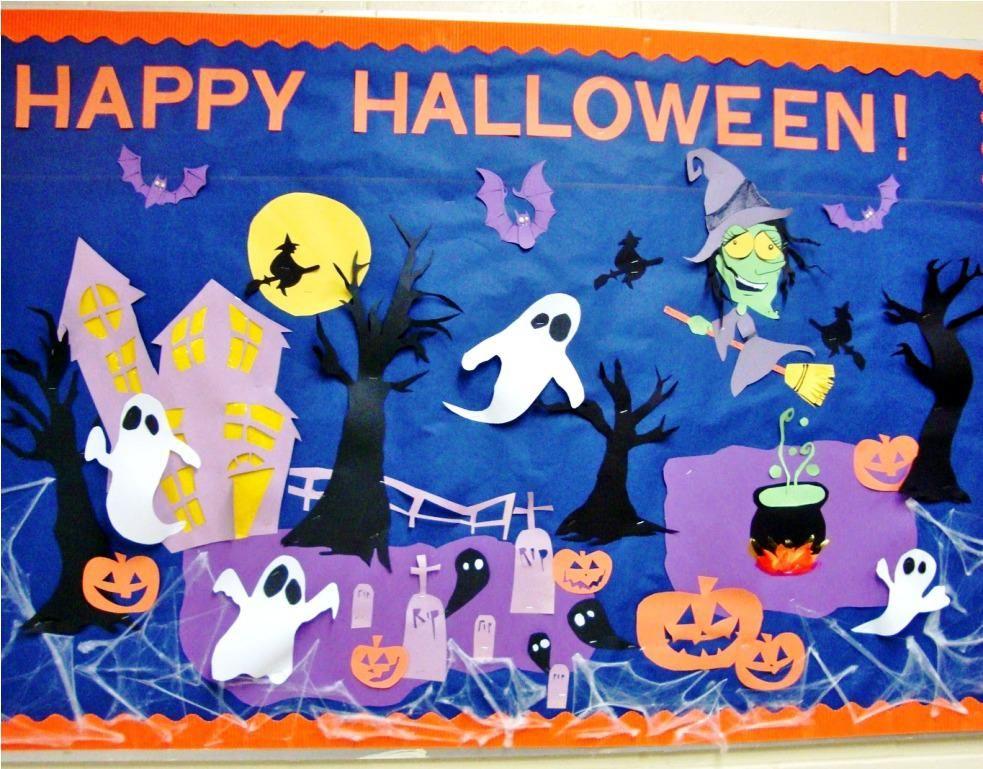 halloween bulletin board ideas keeps rabbitry