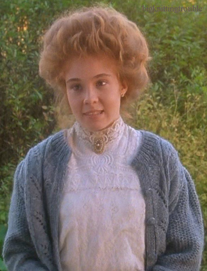 Knitwear At The Movies Anne Of Avonlea Anne Of Avonlea Anne Of