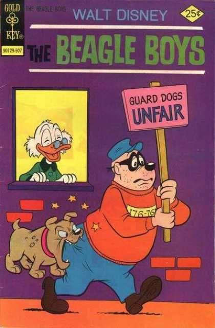Beagle Boys Comics Walt Disney Gold Key Scrooge Mcduck