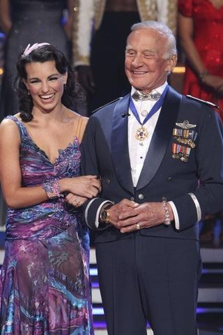 Buzz Aldrin Eliminated 2nd Dwts Season 10 Dancing With The Stars Dance Contest Professional Dancers