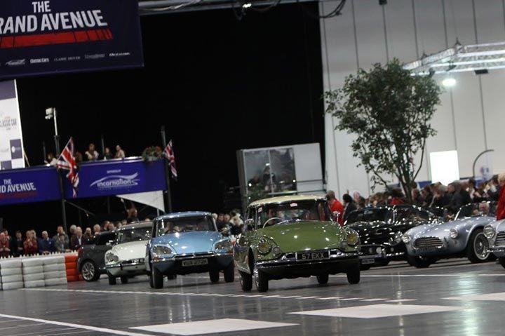 London Classic Car Show 2016 al primo giorno è già boom