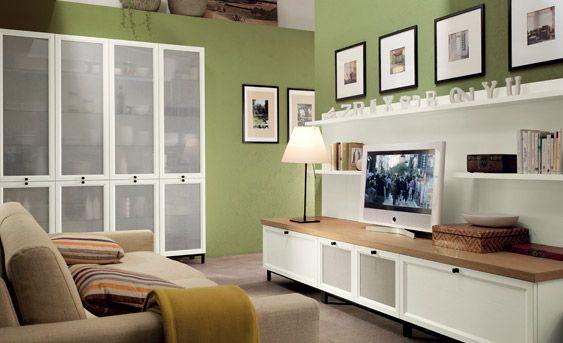 Parete verde salvia cucina cerca con google kitchen for Scavolini pareti attrezzate