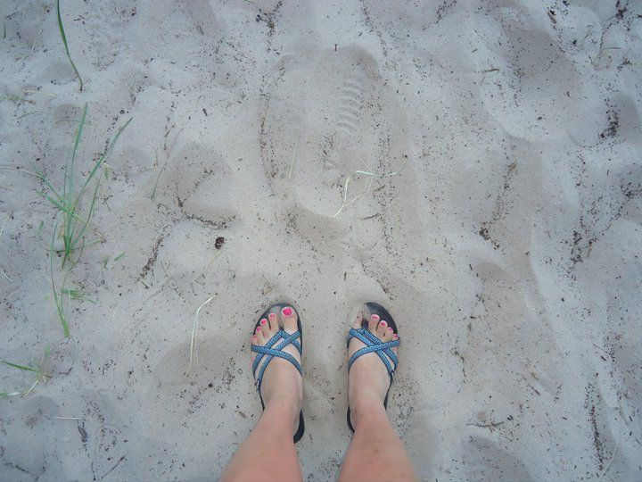 4d9698892 My feet in some Wisconsin lake beach sand. Teva Olowahu sandals are the  greatest in the world!!