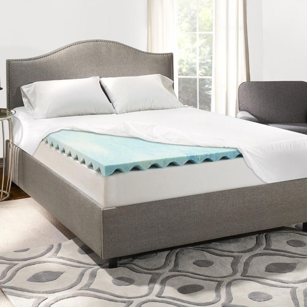 Memory Foam Mattress Bed Frame In 2020 Memory Foam Mattress Topper Mattress Foam Mattress Topper