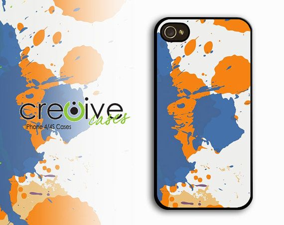 iphone 4 case  Paint Splash  Case for iPhone 4/4s by Cre8iveCases, $12.99