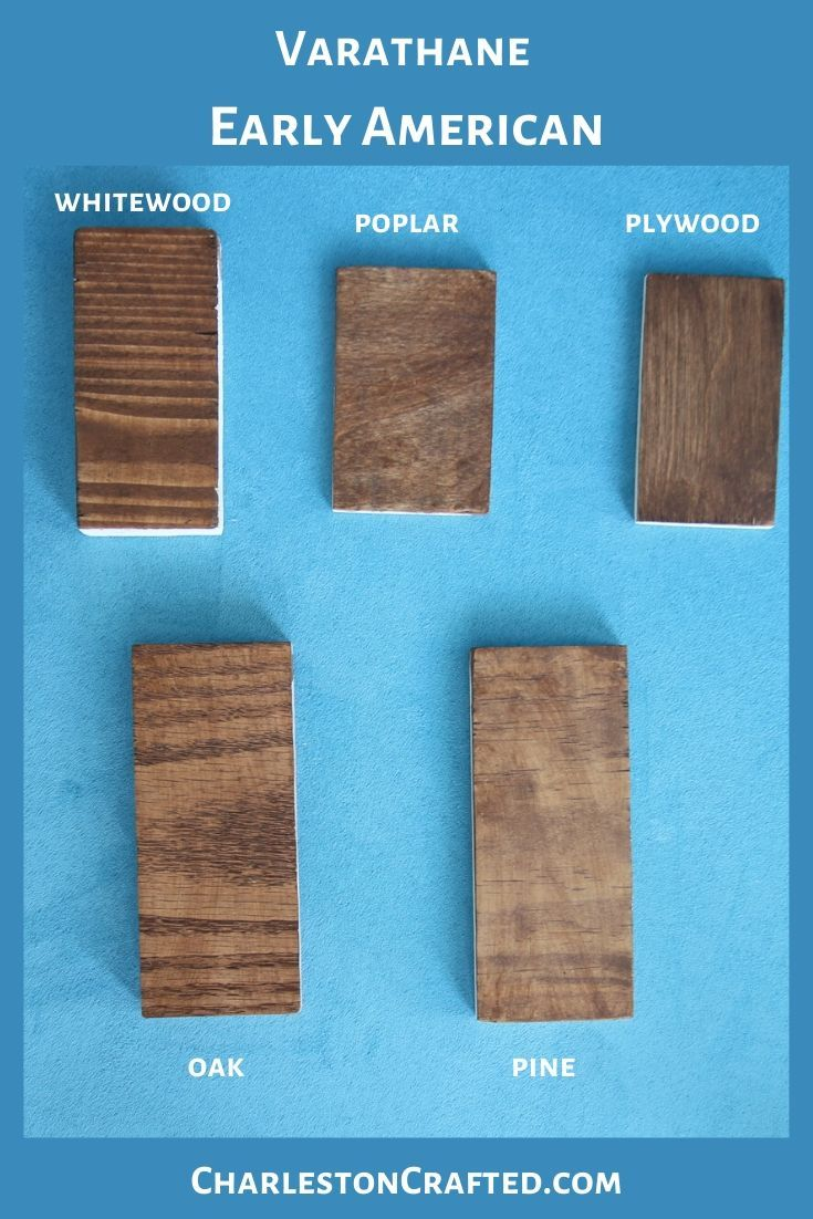 We Tested 10 Stains For Wood On 5 Species Of Wood Here S The Results In 2020 Staining Wood Natural Stain Wood Dark Wood Stain