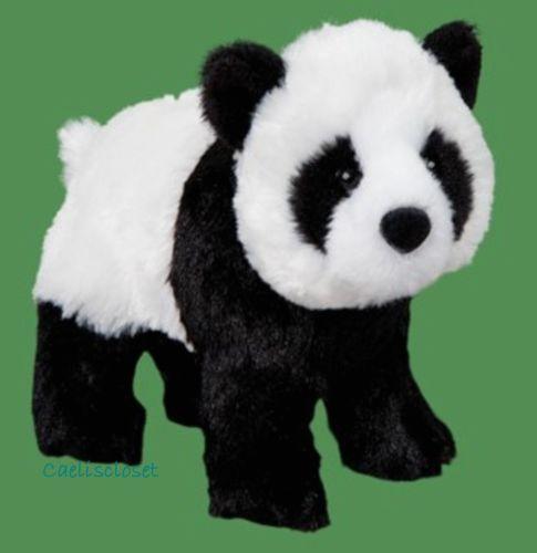 Douglas Plush Bamboo PANDA BEAR Stuffed Animal Cuddle Toy NEW