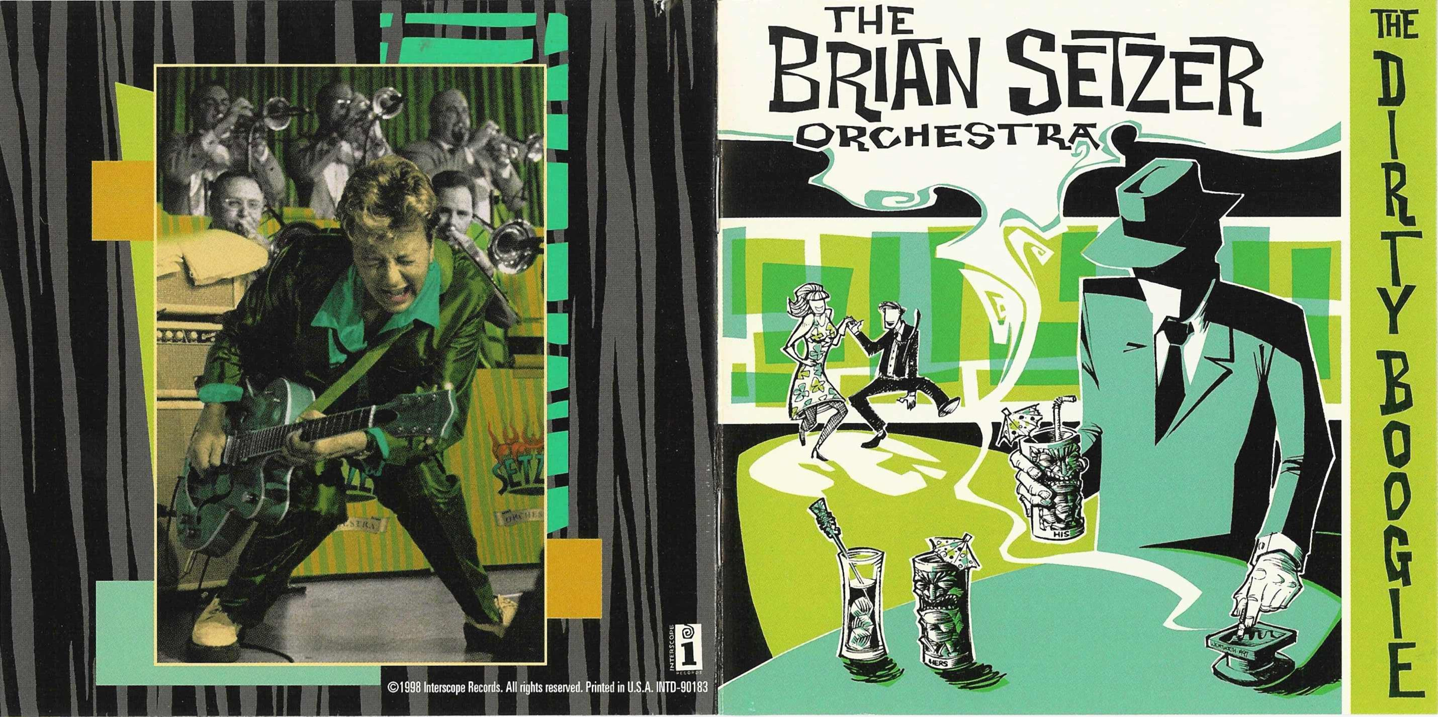 Image result for image, picture, photo, brian setzer orchestra, album covers