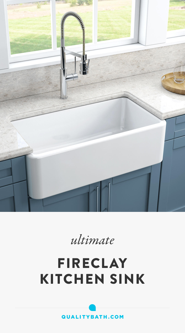 Your Fireclay Farmhouse Sink Will Work With Modern Contemporary