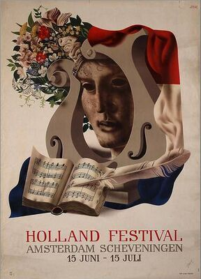 Holland festival 1948-1950 ~Repinned Via Lex Hamers