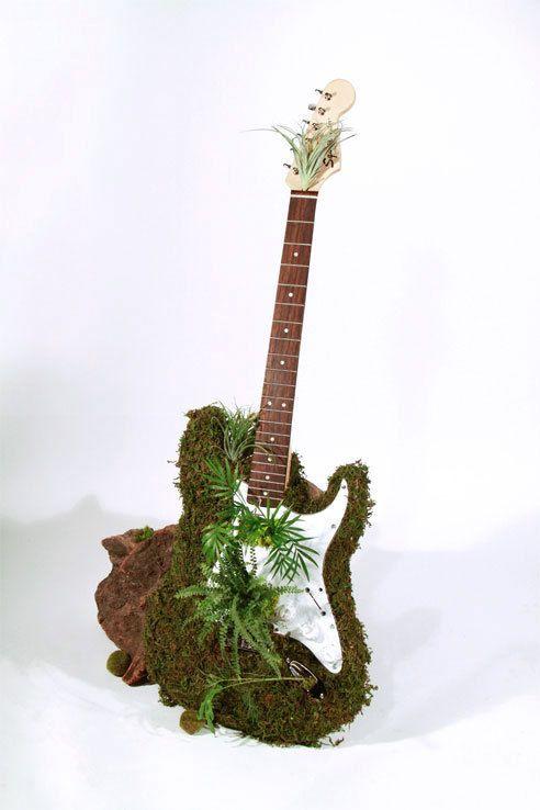 Moss Guitar on Behance